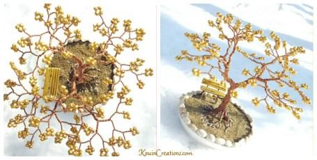 Bronze wire tree