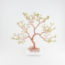 Peridot Gemstone Tree